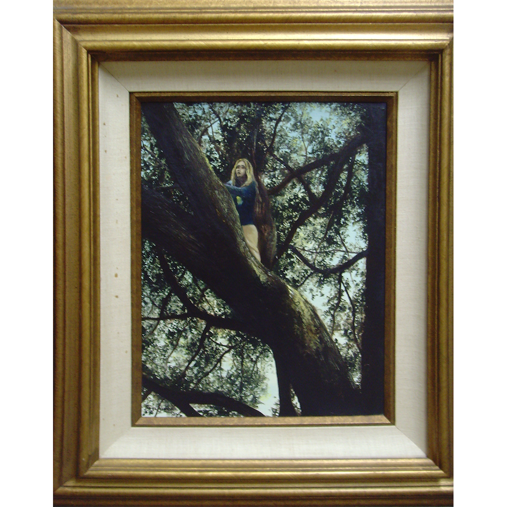 Girl in Griffith Park Tree